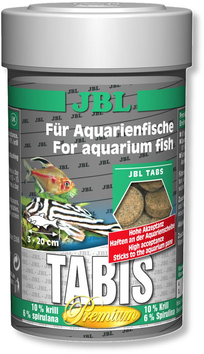 Корм JBL Tabis для рыб, в форме таблеток с добавками, 100 мл (58 г)JBL4060000Корм JBL Tabis представляют собой кормовые таблетки высшего сорта, изготавливаемые только из лучшего натурального сырья и представляющие собой особое лакомство для всех аквариумных рыб. Высокое содержание криля и спирулины, а также 10% содержание питательных организмов, высушенных методом заморозки, обеспечивают здоровый рост и естественным образом улучшают окраску рыб. Особая технология тонкого помола сырья гарантирует легкую усвояемость и уменьшает нагрузку на воду. Сбалансированный мультивитаминный комплекс со стабилизированным витамином С укрепляет иммунную систему и уменьшает риск заболеваний. Кормовые таблетки можно легко прилепить с внутренней стороны аквариумного стекла или опустить на дно аквариума в любом месте. Идеальный размер корма для рыб от 3 до 20 см. Рекомендации по кормлению: два или три раза в день порциями, которые могут быть съедены рыбами в течение нескольких минут. Состав: витамин А 30000 i.E., витамин D3 2000 i.E., витамин Е 350 мг., витамин С 500 мг., инозит 750 мг., протеин-сырец 46%, жиры-сырец 6%, сырая клетчатка 2,5%, чистая зола 11,2%. Вес: 58 г. Количество таблеток 160 шт.Товар сертифицирован.