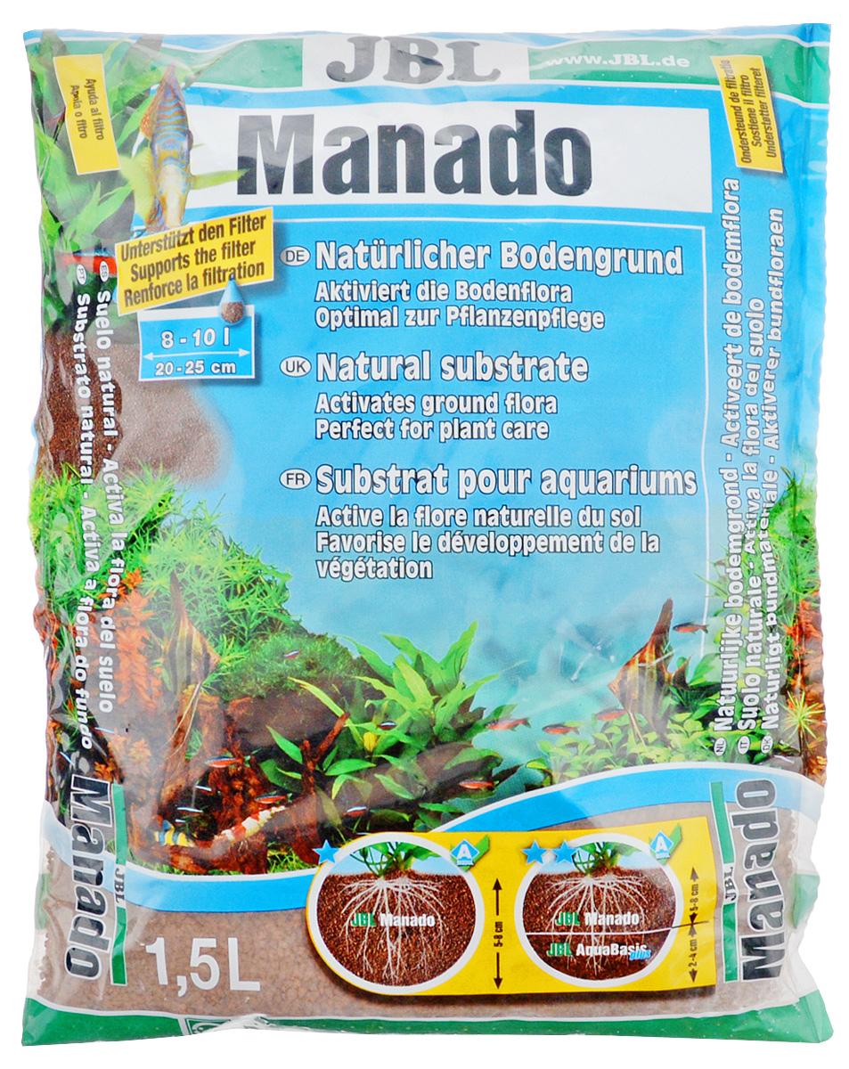 Грунт для аквариума JBL Manado, питательный, цвет: красно-коричневый, 1,5 л0120710Натуральный грунт JBL Manado предназначен специально для оформления аквариумов. Изделие готово к применению.Питательный субстрат фильтрующий воду и улучшающий рост растений порадует начинающих любителей природы и самых придирчивых дизайнеров, стремящихся к созданию нового, оригинального. В отличие от других питательных субстратов JBL Manado не снижает жесткость воды. Вместо этого JBL Manado нейтрален по отношению к воде и не выделяет в воду опасные вещества. Уникальная структура способствует росту корней. Сильнопористая поверхность предоставляет идеальное окружение для заселения очистительных бактерий. Его округлая форма защищает усы растений от поедания донными рыбами. Также грунт предотвращает рост водорослей, так как он поглощает из воды излишки удобрений. Натуральный цвет обожженной глины хорошо сочетается с различными зеленоватыми и красноватыми цветами аквариумных растений.Объем: 1,5л.
