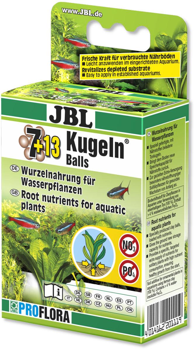 Удобрение для аквариумных растений JBL Die Kugeln, для корней, 192 гJBL2011100Удобрение для аквариумных растений JBL Die Kugeln представляет собой твердые шарики, которые обогащены всеми важными питательными веществами, в том числе железом и микроэлементами. Питательные вещества подаются к растениям постепенно, благодаря чему обеспечивается благоприятное депонентное воздействие. Форма шариков обеспечивает удобное применение в уже оборудованном аквариуме с пресной водой. Особенно хорошо проявляет себя при целенаправленном обеспечении питательными веществами водных растений, которые усваивают питательные вещества главным образом через корневую систему, таких как, например, различные виды эхинодоруса, криптокорина и другие.Применение: В зависимости от величины растений один или несколько шариков поместить у корней растений в грунт. Повторить через год.Количество: 20 шариков.Вес: 192 г.