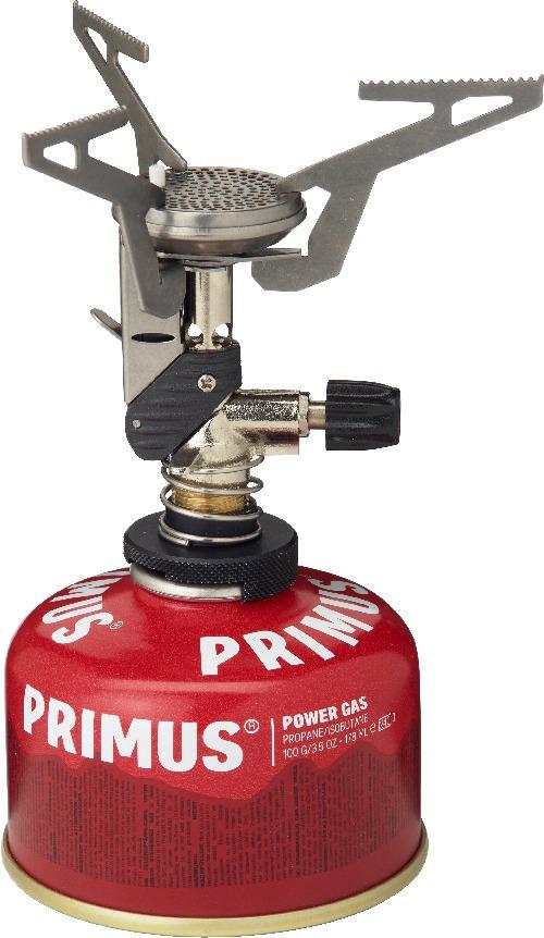 Горелка газовая Primus Express Duo Stove, цвет: серый321443Горелка газовая Primus Express Duo Stove- модель с прекрасным сочетанием мощности, надежности и веса! Это одна из самых легких и компактных. Работает на двух видах баллонов, резьбовых и клапанных. Складные подпорки для котелка обеспечивает минимальный размер, горелка легко умещается в кармане. В комплект входит упаковочный мешочек из нейлона. Время закипания 1л воды: 3 мин. При весе в 82 грамма – это одна из самых легких и компактных моделей в мире. Особенности :Расход топлива: 65 гр./час Время закипания 1л. воды: 3 мин.