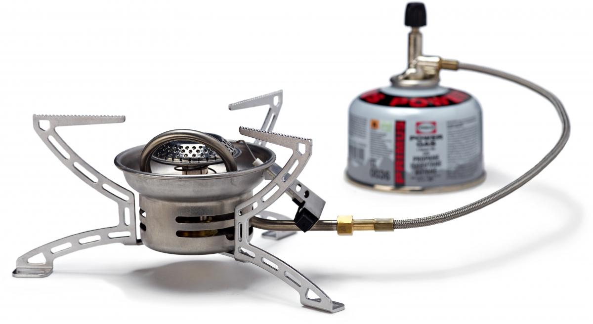 Горелка газовая Primus  Easy Fuel II LP Gas Stove , цвет: серый - Горелки, Обогреватели