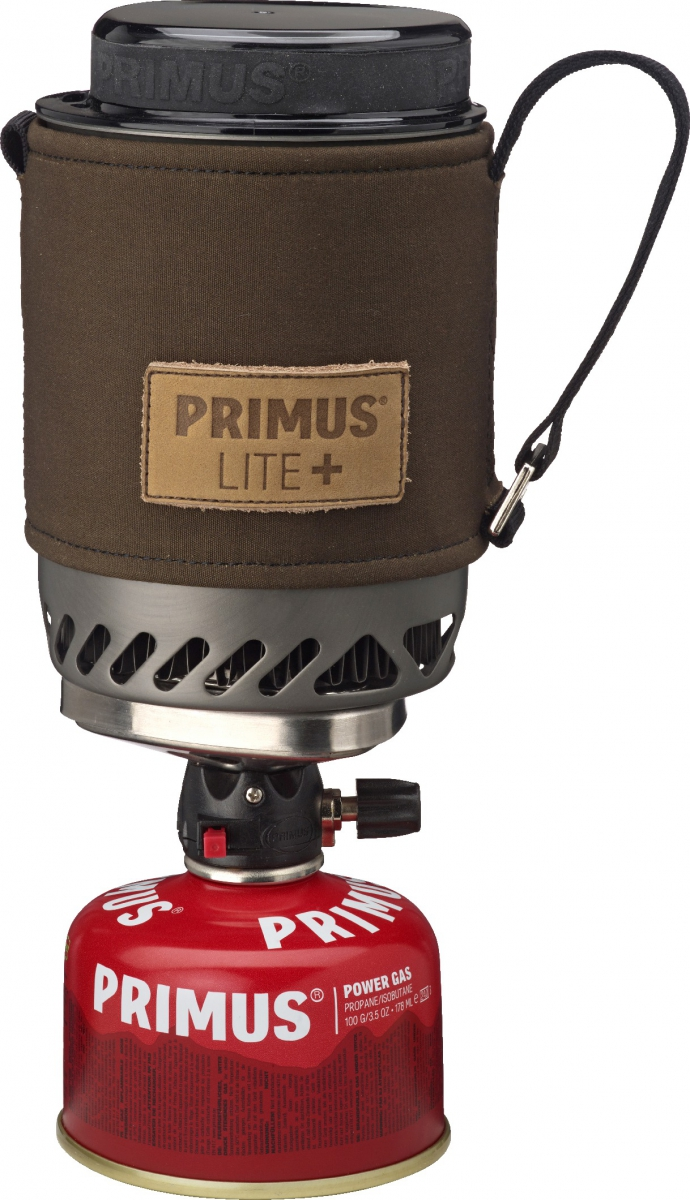 Горелка газовая Primus  Lite Plus Dark Olive , цвет: серый - Горелки, Обогреватели