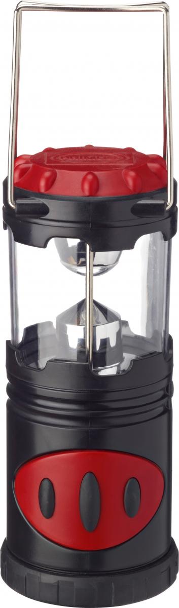 Лампа газовая Primus Camping Lantern, цвет: красный372020Лампа газовая Primus Camping Lantern- прочный кемпинговый фонарь, который обеспечивает отличное и сильное освещение. Фонарь оснащен резиновым напылением для дополнительной ударопрочности и устойчивости. Встроенный отражатель помогает распределить свет. Имеет мигающий режим.Фонарь доступен в трех размерах и работает на 3 батареи AAA-размера ( 372000), 4 батареи AA-размера (372010) или 3 D-Размер батареи (372020).