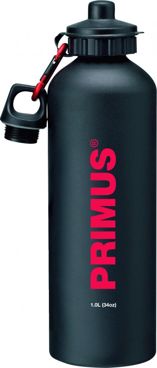 Фляга Primus Drinking Bottle, цвет: черный, 1 л732212Емкость для питья из алюминия.