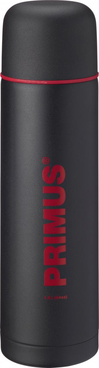 Термос Primus C&H Vacuum Bottle, цвет: серый, 1 л