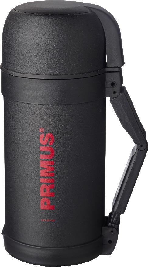 Термос Primus  C&H Food Vacuum Bottle , цвет: темно-серый, 1,2 л - Туристическая посуда