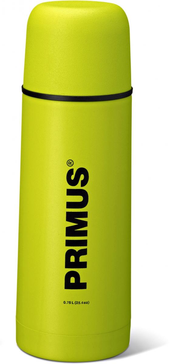 Термос Primus C&H Vacuum Bottle, цвет: желтый, 750 мл737840Термос имеет двойные стенки, изготовлен из нержавеющей стали и покрыт износостойкой порошковой краской.C & H в названии модели - это холодный и горячий, что означает, что благодаря своим превосходным возможностям теплоизоляции, термос способен поддерживать температуру холодных и горячих напитков в течении нескольких часов. Комбинированная крышка, сочетающая в себе кружку, компактный и легкий дизайн, удобный клапан с функцией Quick-stop делают термос Primus C&H Vacuum Bottle максимально удобным и функциональным. Его легко расположить как внутри рюкзака, так и в боковом кармане.Объем термоса: 750 мл.