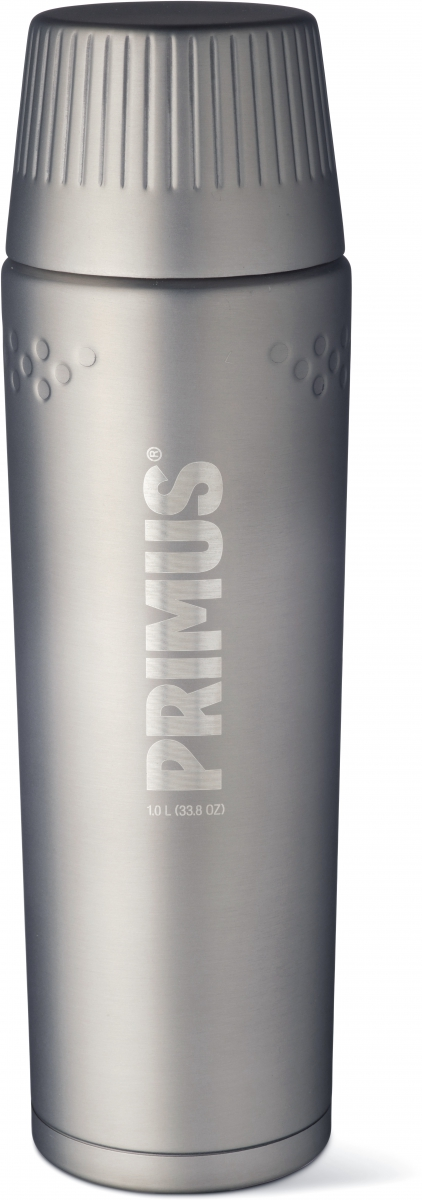 Термос Primus TrailBreak Vacuum Bottle, цвет: серый, 1 л