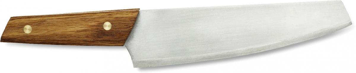 Нож Primus CampFre Knife, цвет: серый, длина лезвия 15 см738009Нож Primus CampFre Knife имеет гибкое лезвие из нержавеющей стали и дубовую ручку. Он предназначен для превосходной нарезки продуктов. Гибкое лезвие также позволяет нарезать филе. Длина лезвия: 15 см.