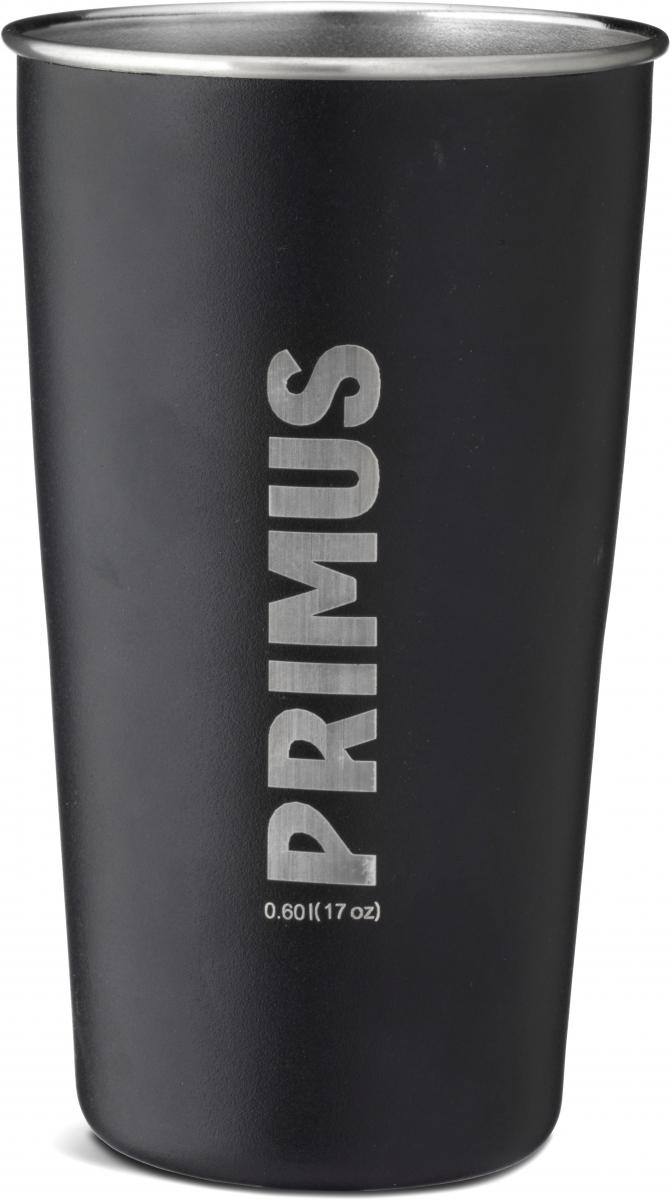 Стакан Primus CampFire Pint S/S, цвет: черный, 600 мл738015Стакан Primus CampFire Pint S/S выполнен из нержавеющей стали. Высокопрочный, не имеет и не передаёт запахи.
