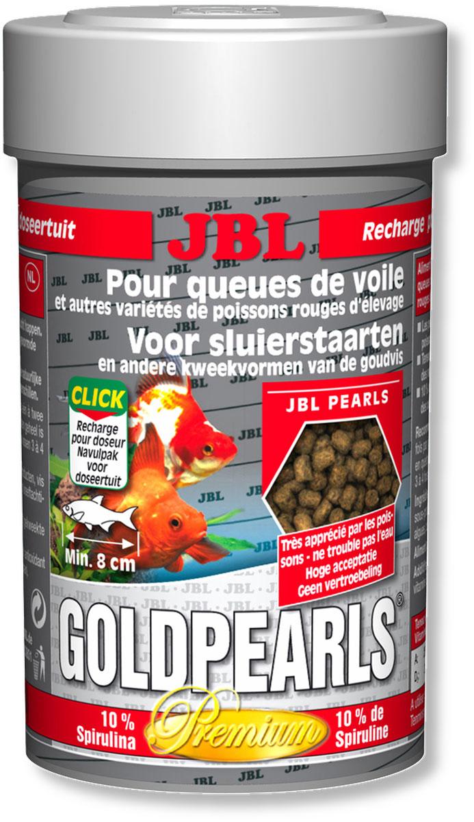 Корм JBL GoldPearls для вуалехвостых и других декоративных золотых рыб, в форме гранул, 100 мл (58 г)0120710Корм JBL GoldPearls содержит комбинацию питательных элементов, для разных аквариумных золотых рыбок в форме жемчужин, которая наилучшим образом соответствует их питанию. В корме содержится высокая доля животного и растительного белков из зародышей пшеницы, рыбы и сои. 10% спирулина, зародыши пшеницы и растительное сырье укрепляют здоровье рыбок.Витамины, жирные кислоты с каротиноидами усиливают иммунитет и рост. Высокий % растительного протеина, дрожжей, овощей, рыбы и побочные рыбные продукты, рачки, водоросли. Идеальный размер корма для рыб от 8 см. Рекомендации по кормлению: два или три раза в день порциями, которые могут быть съедены рыбами в течение нескольких минут. Состав: клетчатка 4%, жир 5%, белок 41%, зола 11%, витамин А 25000 i.E., витамин 200 мг., витамин Е 300 мг., витамин D3 2000 i.E. Вес: 58 г. Товар сертифицирован.