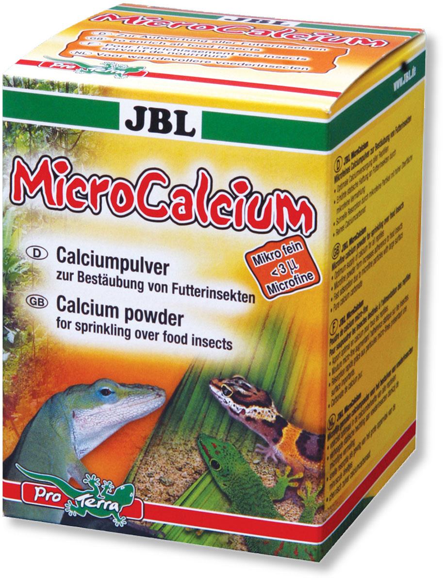 Порошок кальциевый JBL MicroCalcium, для опыления кормовых насекомых, 100 гMABLSEH10001Порошок JBL MicroCalcium - это карбонат кальция сверхтонкого помола с выдающимися физическими и физиолого-пищевыми свойствами для обеспечения рептилий жизненно важным кальцием. Высокий электростатический заряд порошка гарантирует прочное сцепление со всеми возможными кормовыми насекомыми. Препарат обеспечивает кальцием тех рептилий, которые находятся в ослабленном состоянии.Применение препарата: 1 дозирующая ложка на 5-10 насекомых, это зависит от их размера. Затем хорошо потрясите сосуд для обеспечения равномерного опыления насекомых. Порошок можно добавить по необходимости.Состав: чистый микромелкий кальций.Вес: 100 г.Товар сертифицирован.