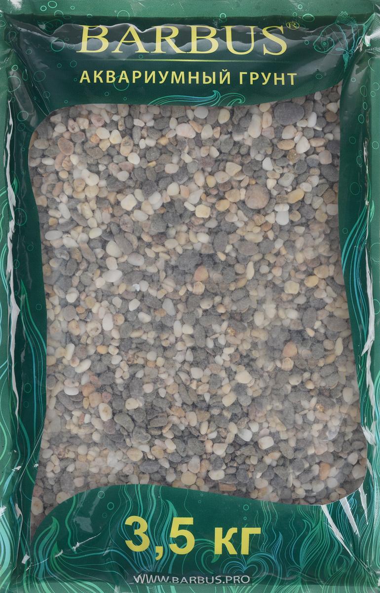 Грунт для аквариума Barbus Феодосия №0, натуральный, галька, 1-3 мм, 3,5 кг0120710Натуральный природный грунт в виде гальки Barbus Феодосия №0 прекрасно подходит для применения в пресноводных аквариумах, а также в палюдариумах и террариумах.Грунт является субстратом для укоренения водных растений и служит неотъемлемой частью естественной среды обитания рыб. Безопасен для всех видов рыб и живых растений. Рекомендуется перед использованием грунт промыть.Средняя норма засыпки пакета грунта рассчитана на 20 литров воды стандартных размеров аквариума. Фракция: 1-3 мм.
