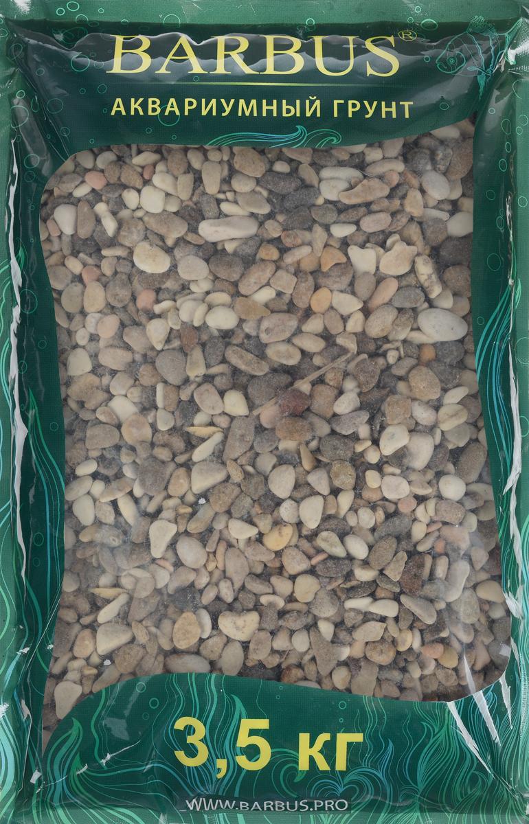 Грунт для аквариума Barbus Пестрая №2, натуральный, галька, 2-5 мм, 3,5 кгGRAVEL 013/3,5Натуральный природный грунт в виде гальки Barbus Пестрая №2 прекрасно подходит для применения в пресноводных аквариумах, а также в палюдариумах и террариумах.Грунт является субстратом для укоренения водных растений и служит неотъемлемой частью естественной среды обитания рыб. Безопасен для всех видов рыб и для живых растений. Рекомендуется перед использованием грунт промыть.Средняя норма засыпки пакета грунта рассчитана на 20 литров воды стандартных размеров аквариума. Фракция: 2-5 мм.