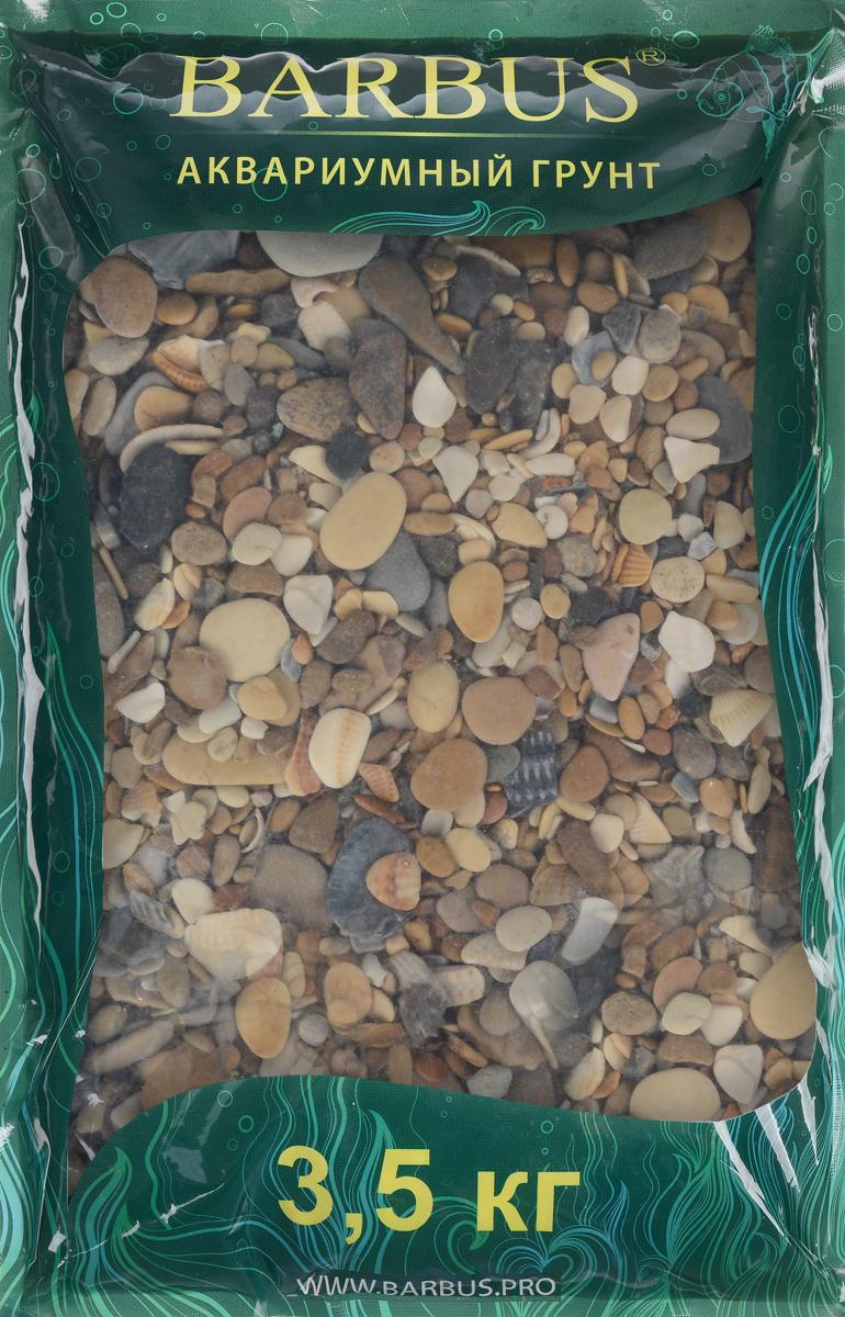 Грунт для аквариума Barbus Каспий, натуральный, галька, 2-20 мм, 3,5 кг5602043Натуральный природный грунт в виде гальки Barbus Каспий прекрасно подходит для применения в пресноводных аквариумах, а также в палюдариумах и террариумах.Грунт является субстратом для укоренения водных растений и служит неотъемлемой частью естественной средой обитания рыб. Безопасен для всех видов рыб и живых растений. Перед применением просто промыть.Предназначен для аквариумов до 20 литров. Фракция: 2-20 мм.