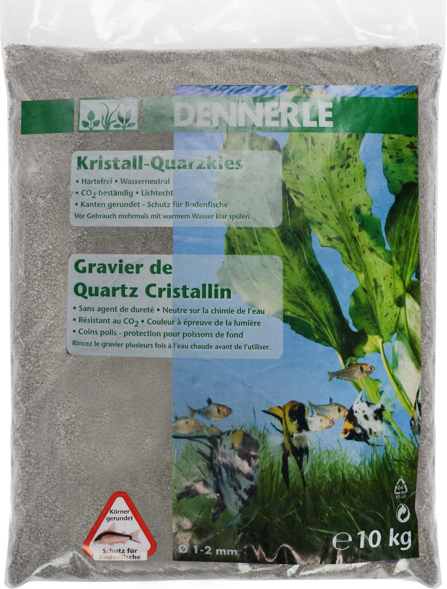 Грунт для аквариума Dennerle Kristall-Quarz, натуральный, цвет: серый, белый, 1-2 мм, 10 кгGlass 009Натуральный грунт Dennerle Kristall-Quarz предназначен специально для оформления аквариумов. Изделие готово к применению.Натуральный гравий имеет округлую форму зерна, поэтому он безопасен для донных рыб.Гравий является светостойким, он устойчив к CO2, нейтрален к воде..Грунт  Dennerle  порадует начинающих любителей природы и самых придирчивых дизайнеров, стремящихся к созданию нового, оригинального. Такая декорация придутся по вкусу и обитателям аквариумов и террариумов, которые ещё больше приблизятся к природной среде обитания.Фракция: 1-2 мм.Объем: 10 кг.Уважаемые клиенты! Обращаем ваше внимание на возможные изменения в дизайне упаковки. Качественные характеристики товара остаются неизменными. Поставка осуществляется в зависимости от наличия на складе.