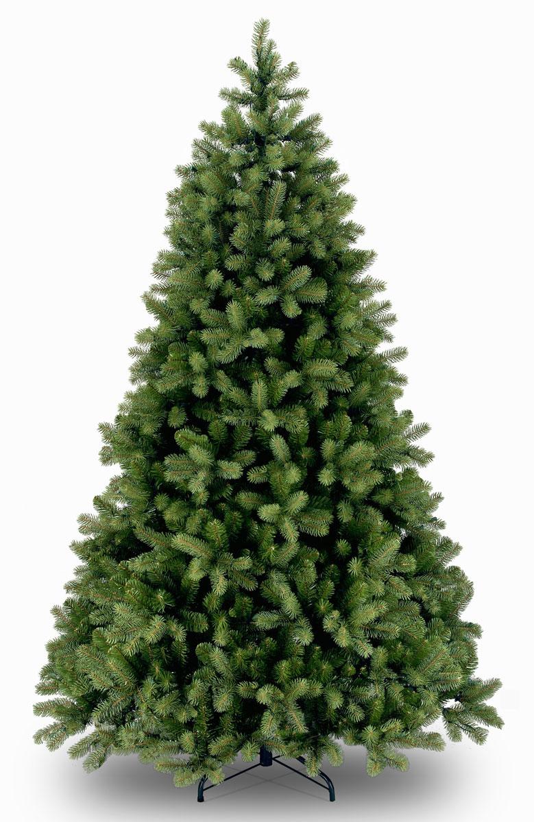 Ель искусственная National Tree Company Poly Bayberry Spruce, цвет: зеленый, высота 122 смBH0422_прозрачныйИскусственная ель Poly Bayberry Spruce, выполненная из ПВХ - прекрасный вариант для оформления вашего интерьера к Новому году. Такие деревья абсолютно безопасны для самых непоседливых малышей, удобны в сборке и не занимают много места при хранении. Ель состоит из верхушки, сборного ствола, веток, вставляющихся в пазы, и металлической крестовины. Ель быстро и легко устанавливается и имеет естественный и абсолютно натуральный вид, отличающийся от своих прототипов разве что совершенством форм и мягкостью иголок. Еловые иголочки не осыпаются, не мнутся и не выцветают со временем. Полимерные материалы, из которых они изготовлены, не токсичны и не поддаются горению. Ель Poly Bayberry Spruce обязательно создаст настроение волшебства и уюта, а так же станет прекрасным украшением дома на период новогодних праздников.Размер:Высота: 122 см.Диаметр: 91 см.