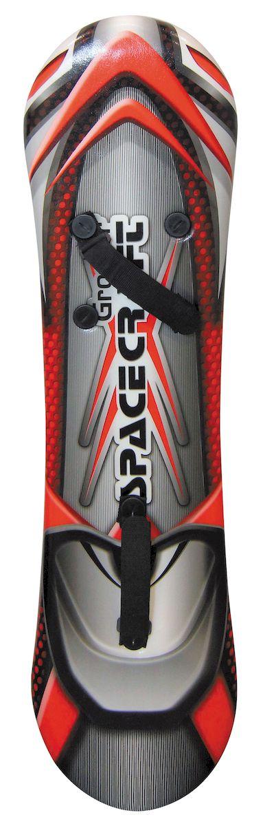 Ледянка-сноуборд 1toy Groover, с креплениями для ног, 109 смТ57221Ледянка-сноуборд 1toy Groover прекрасно подходит для любителей зимних спортивных развлечений. Выполнена из ПВХ.Ледянка имеет крепления для ног.Мах нагрузка: 100 кг.