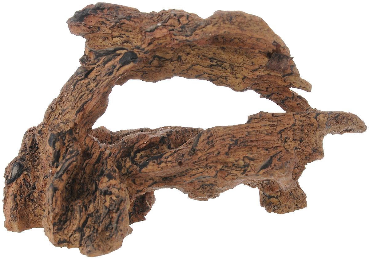 Декорация для аквариума Dennerle Nano Crusta Root M, 13,5 х 6 х 8 см0120710Декорация Dennerle Nano Crusta Root M, выполненная из высококачественной керамики, станет прекрасным украшением вашего аквариума. Декорация нейтральна к воде, безопасна для всех видов рыб. Способствует сокращению стрессовых ситуаций, предоставляя укрытие и возможность покидать его, а также проявлению естественного поведения. Имеется функция биофильтрации: специальная пористая керамика для расселения полезных бактерий, улучшающих качество воды. Пористость проявляется при погружении декорации в воду видимым появлением воздушных пузырьков. Для создания природного эффекта можно обмотать мхом.