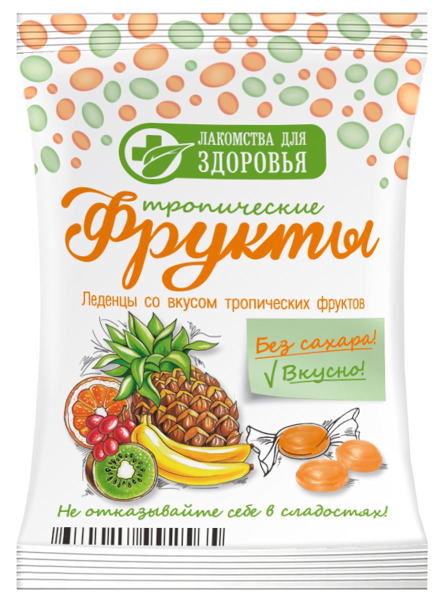 Лакомства для здоровья карамель леденцовая со вкусом мультифрукта, 50 г