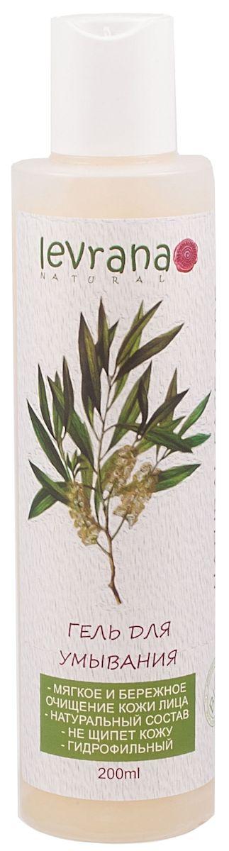 Levrana Гель для умывания Чайное Дерево, гидрофильный, 200 млFCC02Гидрофильный гель Чайное Дерево для умывания кожи лица.Мягко и эффективно очищает и увлажняет кожу.Подходит для ежедневного применения, не щиплет кожу и глаза. Кожа остается увлажненной и мягкой на долгий период. При соприкосновении с водой гель превращается в очень нежное молочко.