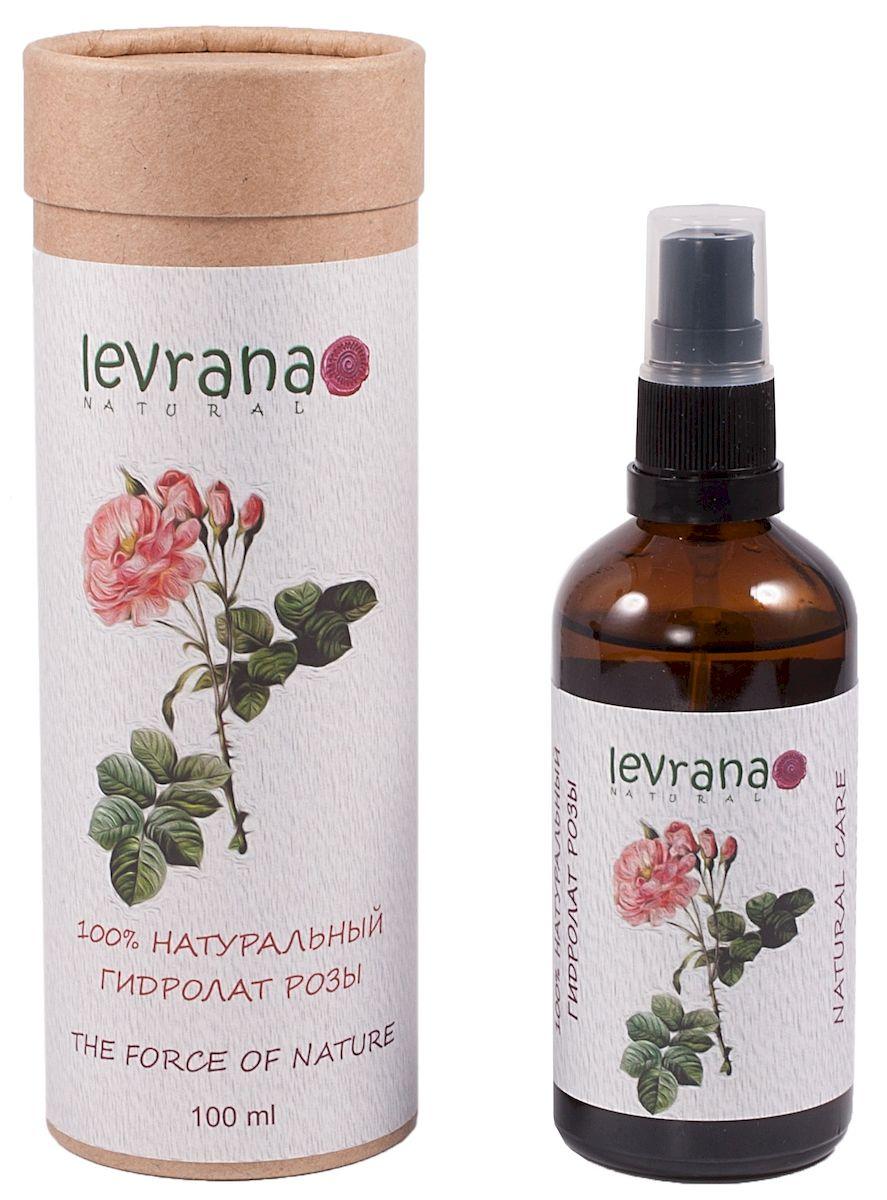 Levrana 100% Натуральный гидролат Розы, 100 мл72523WD100% натуральный гидролат цветков Дамасской Розы.Отлично восстанавливает кожу лица и контур век, эффективно устраняет сверхчувствительность кожи, помогает избавиться от темных кругов под глазами и припухлостей.Идеально для сухой, не менее эффективно для возрастной и чувствительной кожи.Гидролат можно использовать для ежедневного ухода за кожей и волосами, просто распылите гидролат когда хотите освежиться.