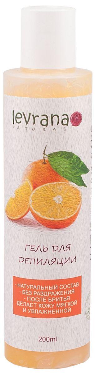 Levrana Гель для депиляции Сладкий Апельсин, 200 млSHG02Гидрофильный гель Сладкий Апельсин для депиляции.Мягкое и бережное бритье - это реально! Смягчает и увлажняет кожу, после бритья можно не использовать дополнительные увлажняющие лосьоны и крема. Кожа остается увлажненной на целый день. При соприкосновении с водой гель превращается в очень нежное молочко.
