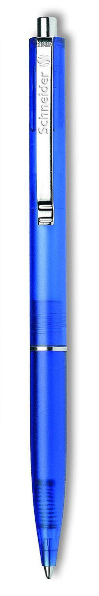 Ручка шариковая K20 FROSTY, M - 0,5 мм, синий прозрачно-матовый корпус; синий цвет чернил., Schneider
