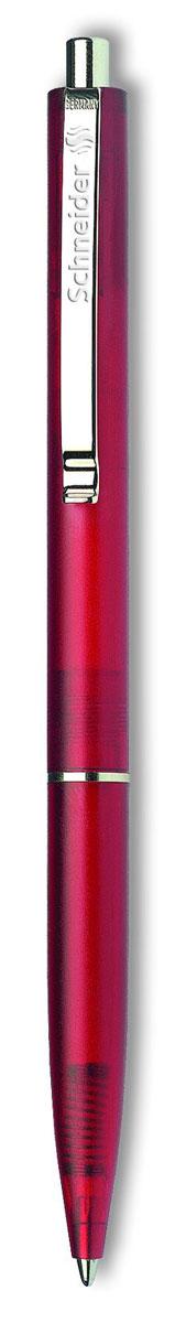 Ручка шариковая K20 FROSTY, M - 0,5 мм, красный прозрачно-матовый корпус; синий цвет чернил., Schneider