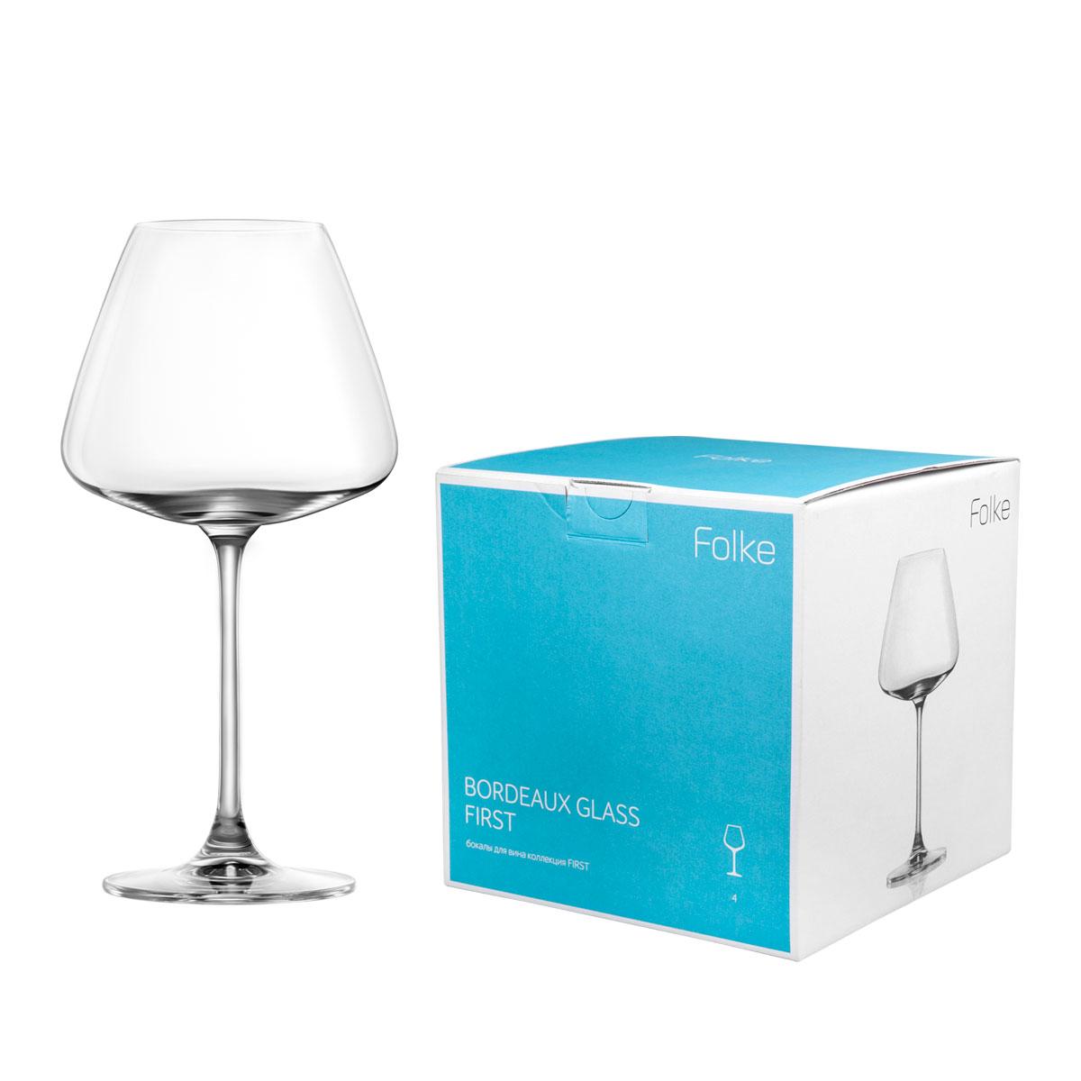 Набор бокалов для вина Folke Bordeux Glass, 590 мл, 4 предмета. 2007171UVT-1520(SR)Коллекция First- это бокалы из бессвинцового хрусталя высшего качества. Наша продукция отличается исключительной чистотой и повышенной устойчивостью к механическим повреждениям. Улучшенные характеристики изделий позволяют использовать их повседневно в домашних условиях и в ресторанном бизнесе. Оригинальный дизайн позволяет любому напитку полностью раскрыться и заиграть новыми красками. Это поистине уникальное творение современных технологий и многолетнего опыта лучших мировых сомелье.