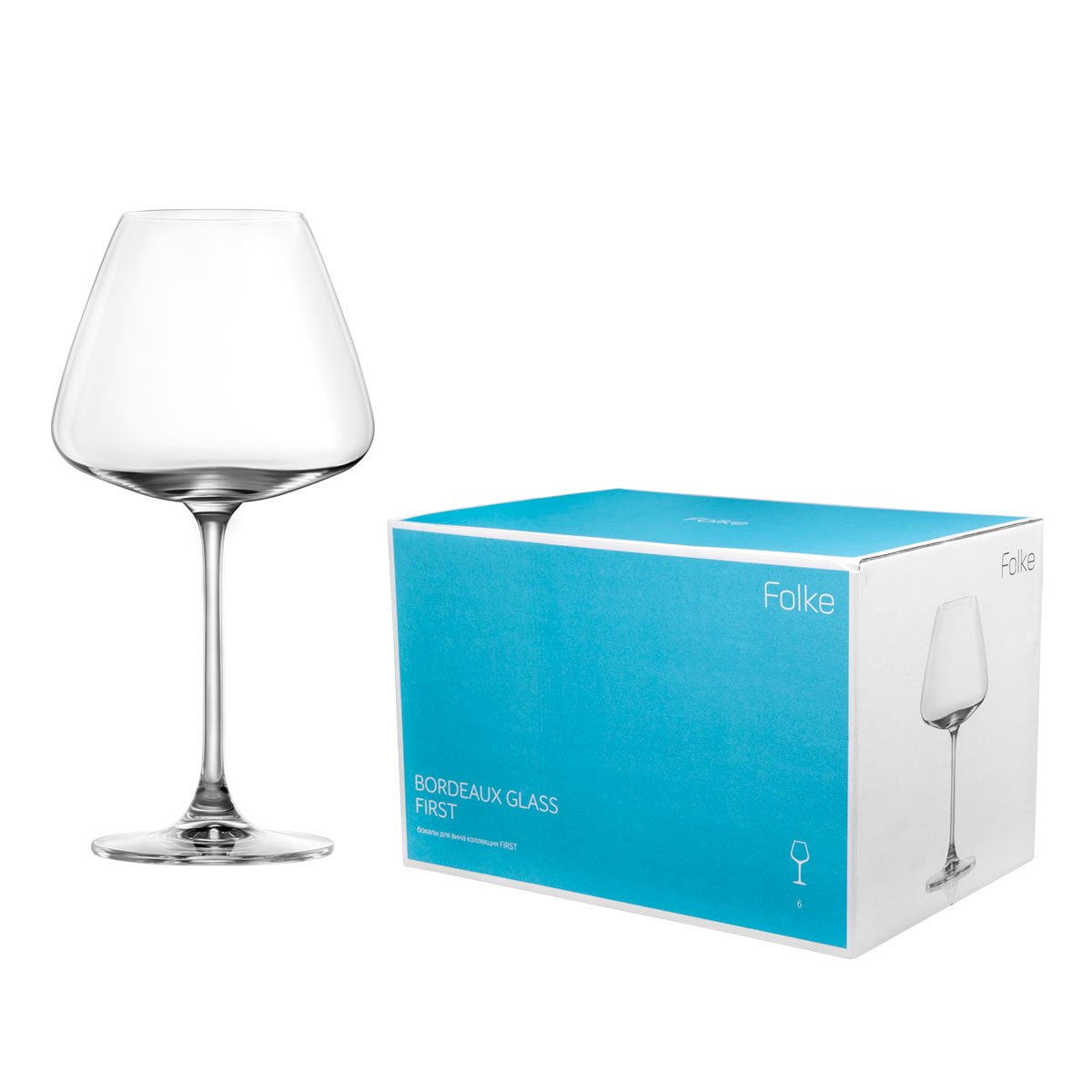 Набор бокалов для вина Folke Bordeux Glass, 590 мл, 6 предметов. 2007172UVT-1520(SR)Коллекция First- это бокалы из бессвинцового хрусталя высшего качества. Наша продукция отличается исключительной чистотой и повышенной устойчивостью к механическим повреждениям. Улучшенные характеристики изделий позволяют использовать их повседневно в домашних условиях и в ресторанном бизнесе. Оригинальный дизайн позволяет любому напитку полностью раскрыться и заиграть новыми красками. Это поистине уникальное творение современных технологий и многолетнего опыта лучших мировых сомелье.