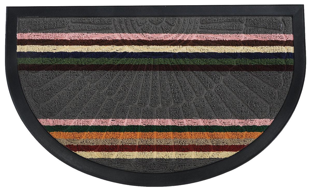 Коврик придверный Vortex Comfort, цвет: серый, розовый, зеленый, 75 х 45 смWUB 5647 weisОригинальный придверный коврик Vortex Comfort надежно защитит помещение от уличной пыли и грязи. Изготовлен из полипропилена на нескользящей резиновой основе. Коврик сохранит привлекательный внешний вид на долгое время.