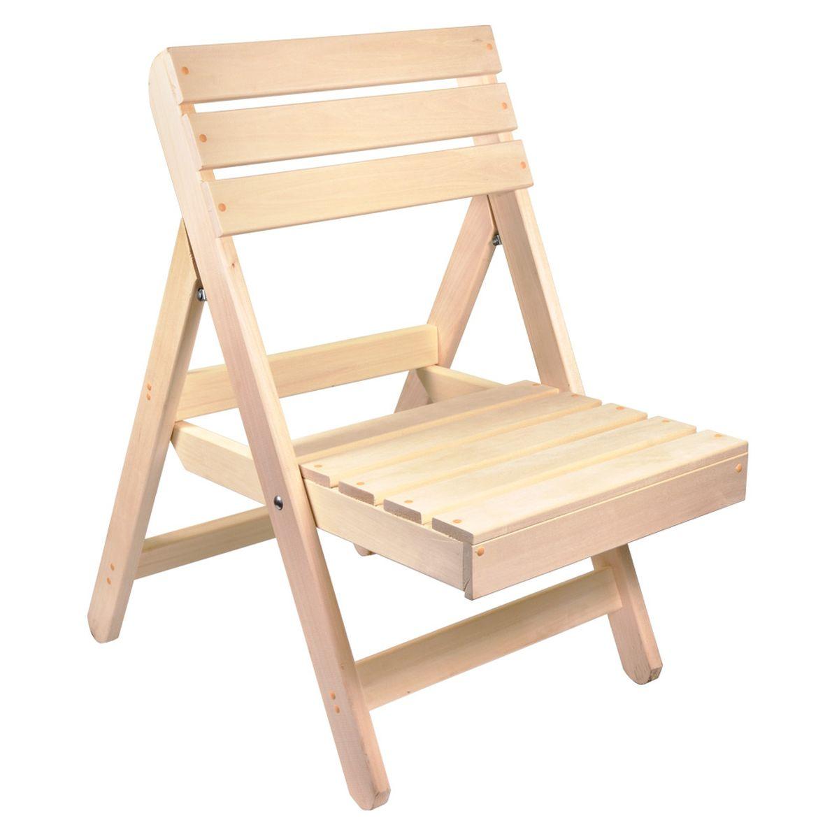 Стул складной Банные штучки, 55 см х 100 см х 41 см2045М/ЗЛ/53Складной стул Банные штучки изготовлен из древесины сосны. Стул достаточно прочен, легко собирается и разбирается и не занимает много места, поэтому подходит для транспортировки и хранения дома. Стул складной Банные штучки сделает банные процедуры более комфортными и приятными, а также украсит интерьер любой бани или сауны, дополнив его русским духом самобытности и частичкой традиционной русской культуры благодаря своей универсальной конструкции.