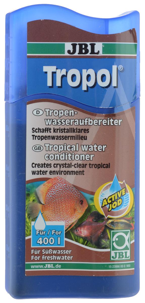 Кондиционер JBL Tropol, для получения тропической воды, 100 млJBL2306600Кондиционер JBL Tropol это концентрат торфа с йодом. Кондиционер обеспечивает кристально чистую среду, типичную для тропических вод и предотвращает развитие водорослей. Укрепляет здоровье рыб благодаря гуминовым веществам из торфа и дубильным веществам из коры дуба. Активный йод способствует разведению потомства. Облегчает привыкание всех рыб, обитающих в богатой гумусом воде (например, неоны, скалярии, дискусы и др.). Нейтрализует стрессы.Применение: 10 мл на 40 л воды.Товар сертифицирован.