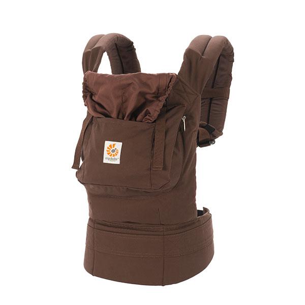 ERGO Рюкзак-переноска Organic цвет темный шоколад ergo baby carrier performance
