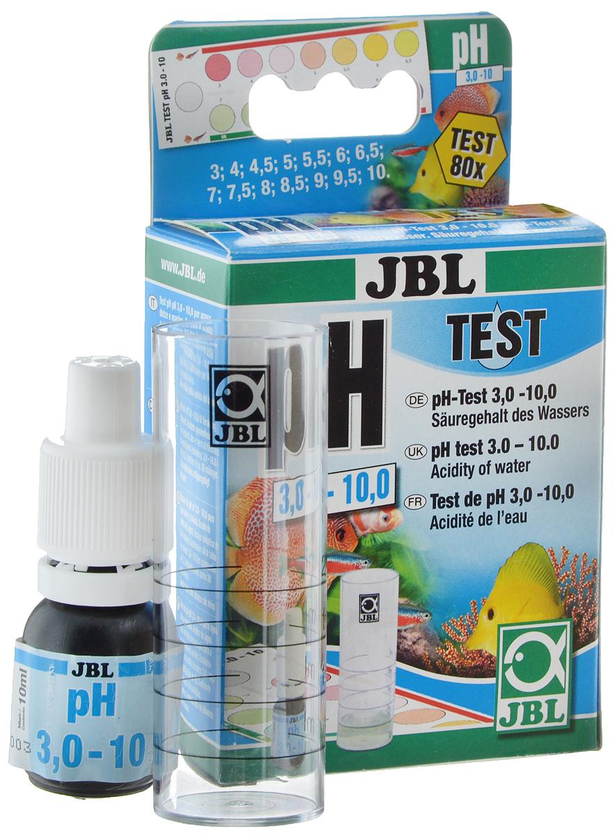 Тест JBL pH Test-Set, для контроля значения рН в пресной и морской воде0120710JBL pH Test-Set - это простой в обращении быстрый тест для ориентировочного контроля значения рН в пресной и морской воде, а также в садовых прудах в широких пределах от 3,0 до 10.Постоянное - по возможности - поддержание подходящего значения рН является важным условием для хорошего самочувствия рыб инизших организмов, а также хорошего роста водных растений. Оптимальное значение рН для содержания большинства пресноводных рыб и растений находится в нейтральных пределах около 7. В морском аквариуме значение рН должно составлять 7,9 - 8,5. В садовом пруду благоприятными значениями являются 7,5 - 8,5.Способ применения достаточно прост: нужно заполнить мерный сосуд тестируемой водой до отметки 5 мл. Добавить 4 капли реактива, немного смешать и оставить на 3 минуты. Сравнить получившийся цвет, поместив сосуд на белый фон, с прилагаемой шкалой цветности и прочитать соответствующее значение рН.