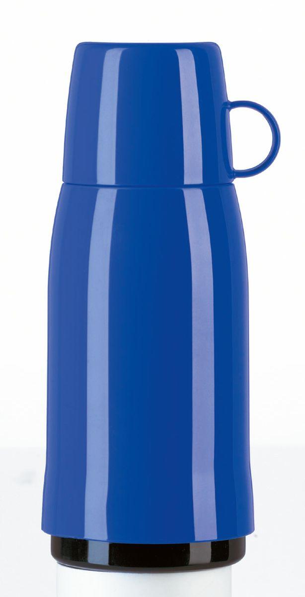 Термос Emsa Rocket, цвет: синий, 0,5 лVT-1520(SR)Термос Emsa Rocket выполнен из прочного цветного пластика со стеклянной колбой. Термос прост в использовании и очень функционален. Оснащен герметичным клапаном и крышкой, которую можно использовать в качестве стакана. Легкий и прочный термос Emsa Rocket сохранит ваши напитки горячими или холодными надолго.Сохранение холода: 24 ч.Сохранение тепла: 12 ч.