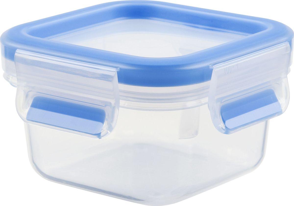 Контейнер пищевой Emsa Clip&Close, 0,25 лFD 992Контейнер Emsa Clip&Close изготовлен из высококачественного антибактериального пищевого пластика, имеющего сертификат BPA-free, который выдерживает температуру от -40°С до +110°С, не впитывает запахи и не изменяет цвет. Это абсолютно гигиеничный продукт, который подходит для хранения даже детского питания. 100% герметичность - идеально не только для хранения, но и для транспортировки пищи. Герметичность достигается за счет специальных силиконовых прослоек, которые позволяют использовать контейнер для хранения не только пищи, но и жидкости. В таком контейнере продукты долгое время сохраняют свою свежесть - до 4-х раз дольше по сравнению с обычными, в том числе и вакуумными контейнерами. 100% гигиеничность - уникальная технология применения медицинского силикона в уплотнителе крышки: никаких полостей - никаких микробов. Изделие снабжено крышкой, плотно закрывающейся на 4 защелки. 100% удобство - прозрачные стенки позволяют просматривать содержимое, удобная мерная шкала на стенке чаши, сохранение пространства за счёт лёгкой установки контейнеров друг на друга. Изделие подходит для домашнего использования, для пикников, поездок, отдыха на природе, его можно взять с собой на работу или учебу. Можно использовать в СВЧ-печах, холодильниках, посудомоечных машинах, морозильных камерах.