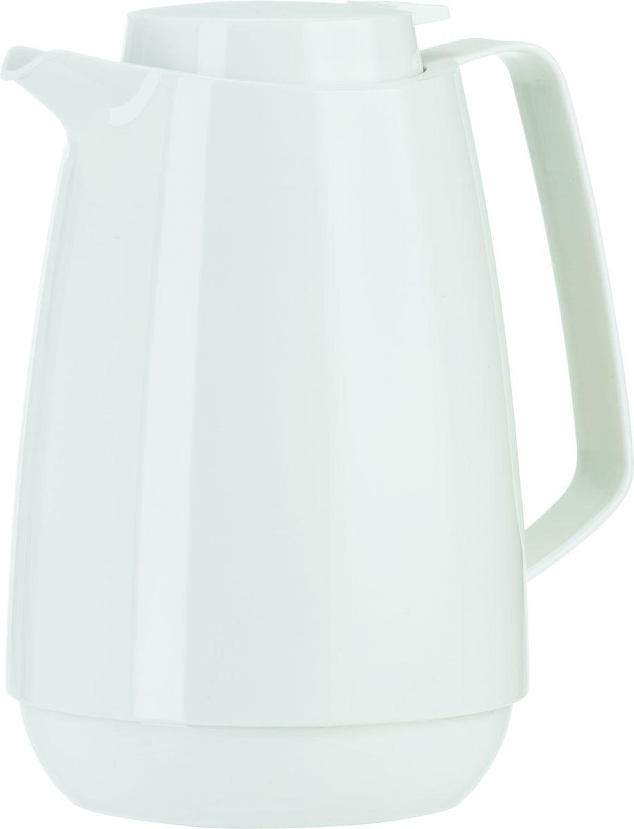 Термос-кофейник Emsa Momento Coffee, цвет: белый, 1 л54 009312Элегантный термос-кофейник Emsa Momento Coffee с двустенной вакуумной колбой из нержавеющей стали и пробкой Quick Press. Крышка с системой Easy Open позволяет управляться одной рукой. Оригинальный дизайн впишет в любой современный интерьер.
