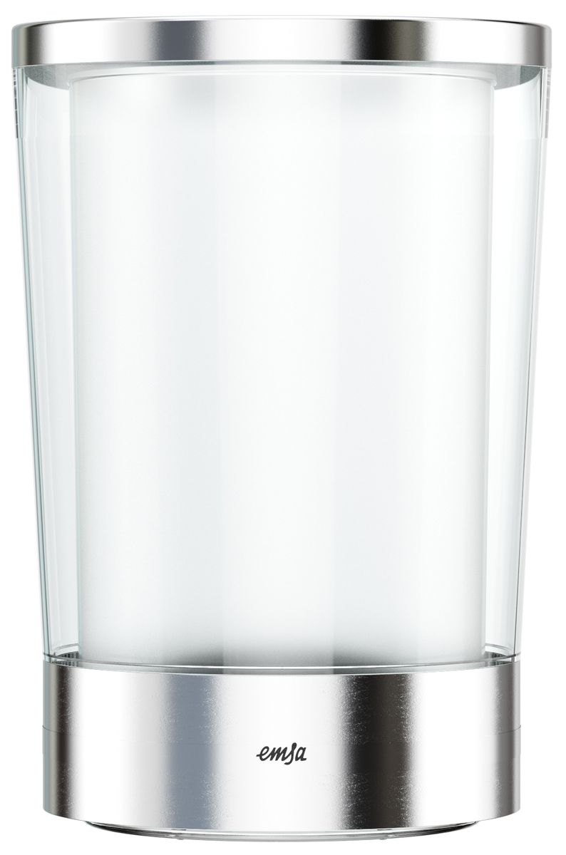 Ведерко для льда Emsa Flow SlimVT-1520(SR)Ведерко для льда Emsa Flow Slim имеет достаточно большой объем, что позволяет подавать сразу большое количество льда.Уникальный аккумулятор холода обеспечивает дополнительное охлаждение.Такое ведерко станет не только емкостью для хранения льда, но стильным украшением вашего праздничного стола.Размер ведерка: 14,5 х 21,5 см.
