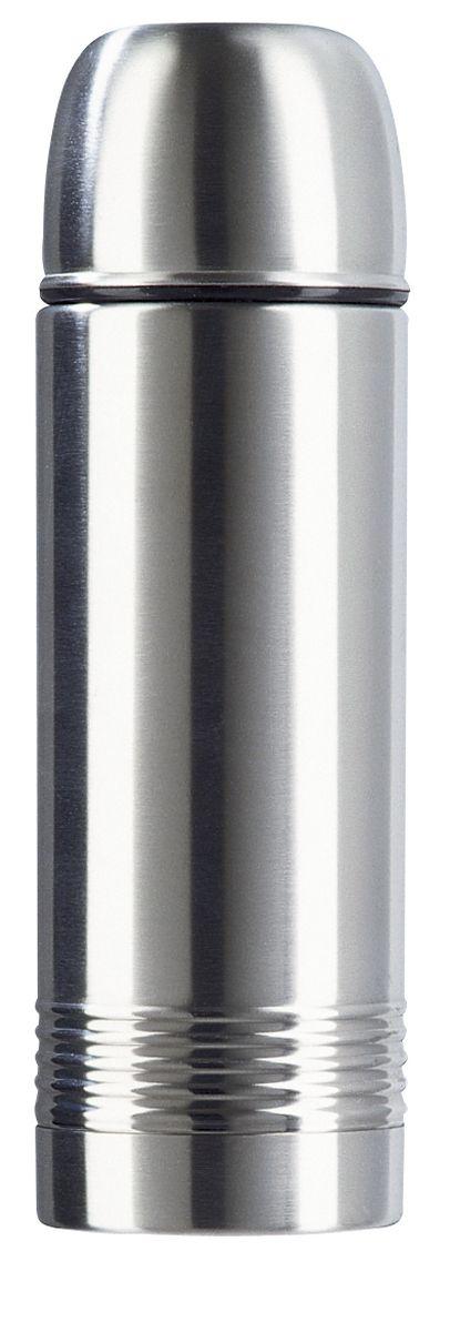 Термос Emsa Senator, цвет: серый, 500 мл618501600Классическая и гармоничная форма термоса Emsa Senator удовлетворит желания любого потребителя. Термос оснащен герметичным клапаном и крышкой, которую можно использовать в качестве стакана, а благодаря высококачественной двустенной вакуумной колбе из нержавеющей стали и вакуумной изоляции он сохранит ваши напитки горячими до12 часов, а холодными - до 24.Термос имеют элегантное оформление из нержавеющей стали.Пробка Safe Loc обеспечивает 100 % герметичность, а также не даст вам забыть закрыть свой термос после использования. Вакуумная чашка также не даст напитку остыть быстрее, чем нужно. Термос, чашу и пробку можно мыть в посудомоечной машине.