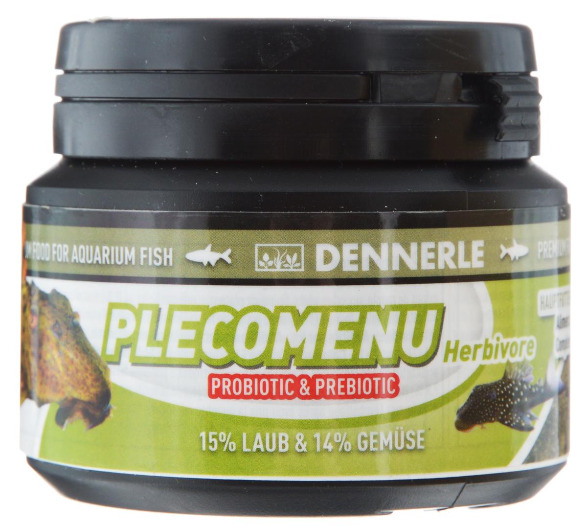 Корм Dennerle Pleco Menu Herbivore, для лорикариевых и растительноядных сомов, 36 г101246Dennerle Pleco Menu Herbivore - основной корм для всехрастительноядных сомов и водорослеедов, особенно, такихкак анциструсы, пеколтии, птеригоплихты, барианциструсы,гипанциструсы. Корм в виде таблеток.Содержит натуральные листья (15%, что обеспечивает такуюже долю балластных веществ в корме, как в природе), богатыевитаминами овощи и водоросли (20%), рачки, личинкинасекомых и мух (10%). Таблетки размером около 15 ммразгрызаются сомами, что способствует естественномуповедению рыб при кормлении.Состав: пшеничный протеин, арктический криль, истьяшелковицы (4,5%), листья папайи (4,5%), шпинат (4%), жирморских животных с омега-3 ПНЖК, капуста белокочанная(3%), листья березы (3%), листья грецкого ореха (3%),известковые красные водоросли, дрожжевой экстракт,экстракт зеленого губчатого моллюска, спирулина платенсис,мелисса (2%), чеснок (2%), мокрица (2%), речной бокоплав,водяная блоха, кузнечик, инулин цикория, личинка мухи,водоросли хлорелла, фенхель (1%), анис, цветочная пыльца,артемия, науплия артемии, травяной экстракт, порошоквиноградных косточек, красная личинка комара, бета глюканы.Аналитические компоненты: неочищенный протеин 43,2%,жир-сырец 8,5%, сырая клетчатка 4,0%, неочищенная зола10,0%, влага 7,8%.Рекомендации по кормлению: 2-3 раза в день в количестве, которое рыбы смогут съесть в течение 1 минуты.Товар сертифицирован.