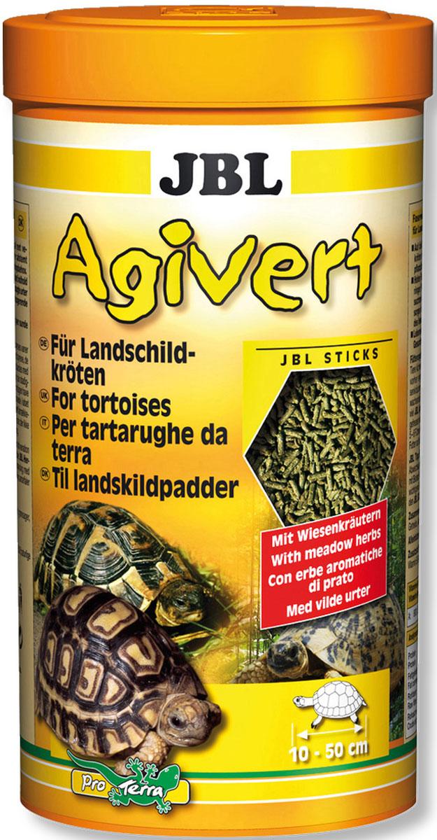 JBL Agivert Растительный корм в форме палочек для черепах, 100 мл (43 г)0120710JBL Agivert - Растительный корм в форме палочек для черепах, 100 мл. (43 г.)