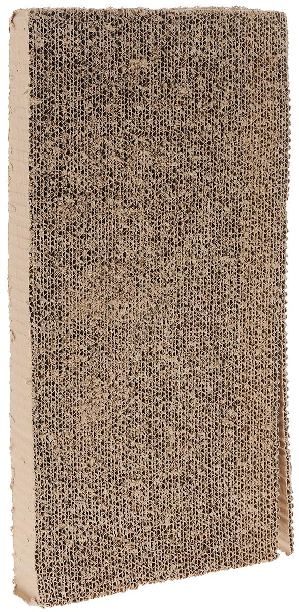 Когтеточка-горка I.P.T.S., с кошачьей мятой, 46 х 23 х 4 см0120710Когтеточка-горка I.P.T.S. изготовлена из плотного картона - натурального материала, который легко перерабатывается и наносит минимальный ущерб окружающей среде. Когтеточка позволит приучить кошку точить коготки в строго определенном месте, а запах кошачьей мяты привлечет ее внимание. Она будет меньше царапать мебель или вообще перестанет. Вашей кошке очень понравится пользоваться ею и, таким образом, заботиться о своих когтях. Горка поставляется в разобранном виде. Соберите ее согласно инструкции, обсыпьте поверхность кошачьей мятой из пакетика (входит в комплект) и легкими движениями вотрите в поверхность. Когтеточка готова к использованию.