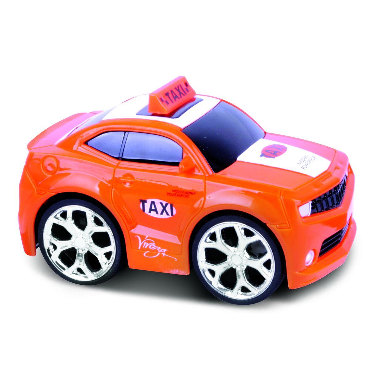 Bluesea Машинка на радиоуправлении Taxi Car цвет оранжевый