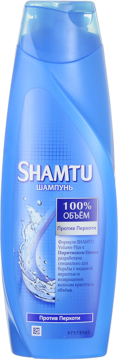 Шампунь Shamtu Против перхоти, с пиритионом цинка, 360 мл
