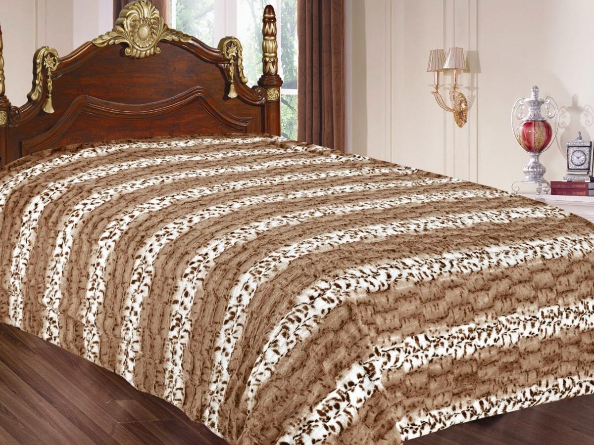 Покрывало Cleo Леопард, цвет: коричневый, 220 x 240 см210/02-TZКрасивые, яркие, легкие и в меру объемные покрывала - они становятся настоящим украшением, завершающим штрихом интерьера, который преображает помещение, делая его уютным и комфортным.Состав этой коллекции - искусственный мех (акрил). Покрывало универсально в использовании.Такое покрывало прослужит много лет, радуя вас и ваших близких изначальной яркостью своих красок.