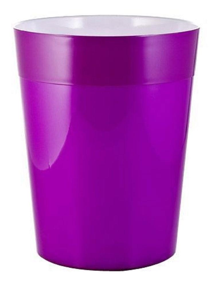 Ведро мусорное Ridder Neon, цвет: фиолетовый, 5 лDW90Высококачественные немецкие аксессуары для ванных комнат. Данная серия изготавливается из акрилового стекла.Изделия серии Neon устойчивы к ультрафиолету и мытью в посудомоечной машине.Объем: 5 л.