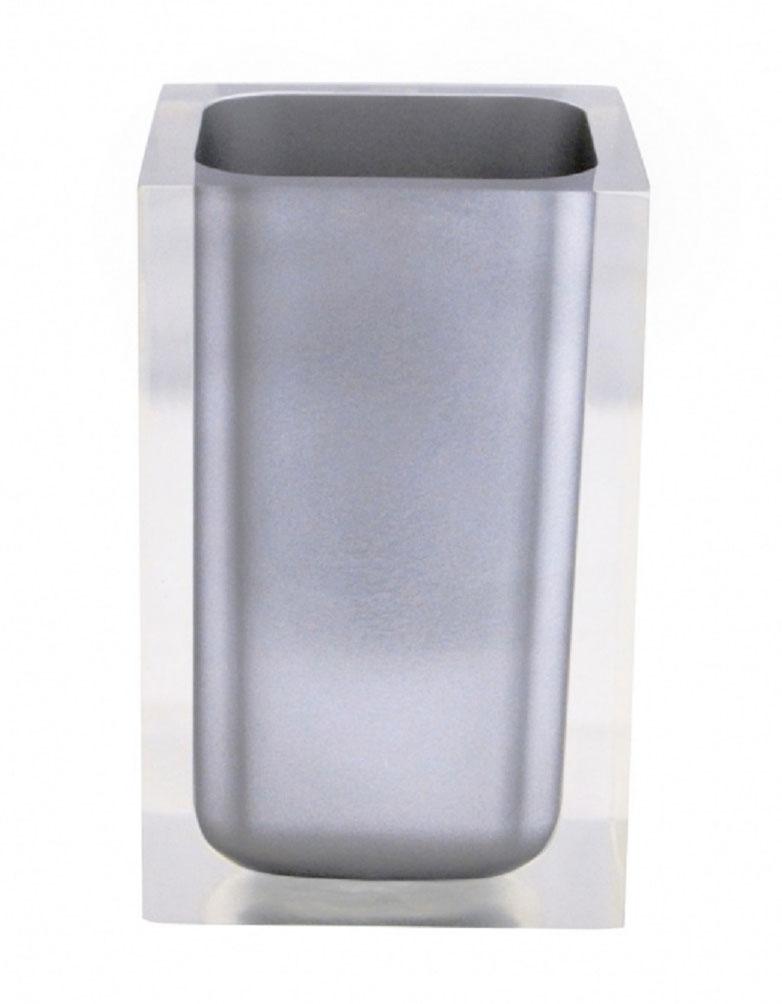 Стакан для ванной комнаты Ridder Colours, цвет: серыйRG-D31SИзделия данной серии устойчивы к ультрафиолету, т.к. изготавливаются из полирезины. Экологичная полирезина - это твердый многокомпонентный материал на основе синтетической смолы,с добавлением каменной крошки и красящих пигментов.
