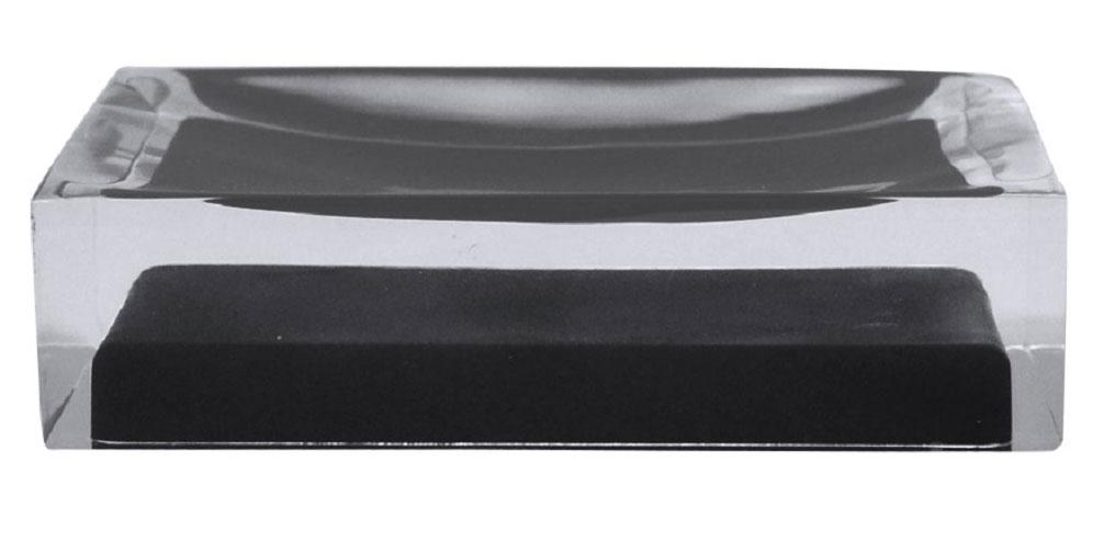 Мыльница Ridder Colours, цвет: черный68/5/3Изделия данной серии устойчивы к ультрафиолету, т.к. изготавливаются из добротной полирезины. Экологичная полирезина - это твердый многокомпонентный материал на основе синтетической смолы,с добавлением каменной крошки и красящих пигментов.